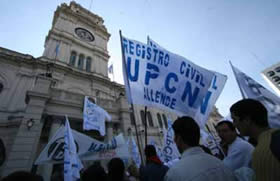 1 upcn_protesta_casa_gris