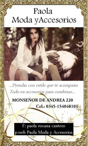 Paola Modas Concordoa