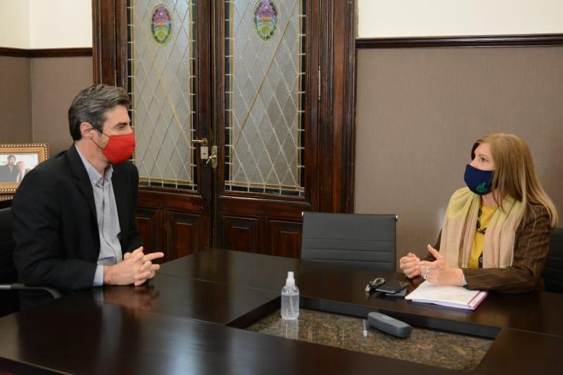 Angel Giano y Rosario Romero «Coordinan agenda legislativa»
