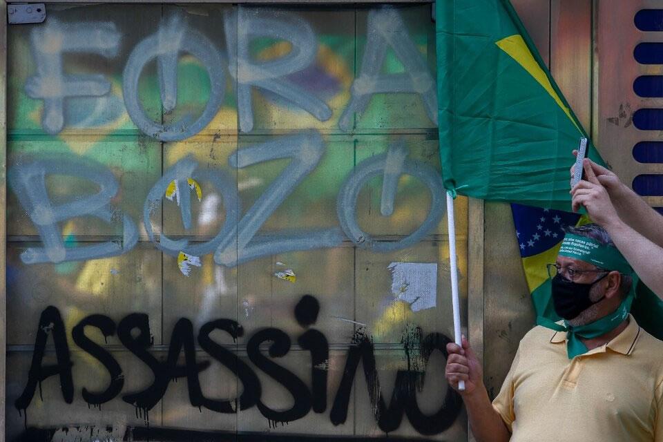 El mandatario brasileño dijo que «solo Dios» lo sacará de la presidencia