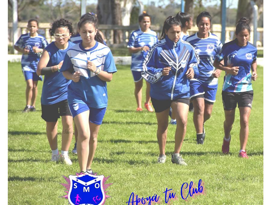 El fútbol femenino de Santa María de Oro se prepara para nuevos desafíos a nivel nacional
